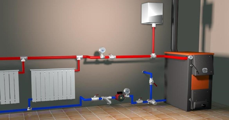 Одноконтурная система отопления