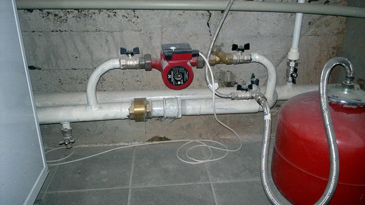 Как заполнить систему отопления теплоносителем